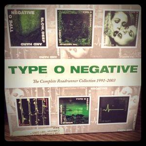 Type O Negative Discography Disc Set